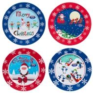 Melamine Christmas Dinner Plate