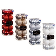 Luxury Christmas Baubles 20pk