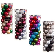Bumper Luxury Christmas Baubles 40pk