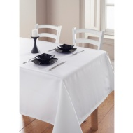 Essentials Tablecloth - White