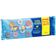 Fox's Party Rings Super Twin Pack 2 x 125g