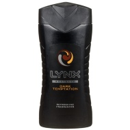 Lynx Dark Temptation Revitalising Shower Gel 250ml
