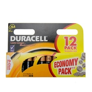 Duracell AA 12 Pack Alkaline Batteries
