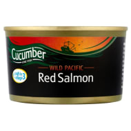 Cucumber Wild Pacific Red Salmon 212g