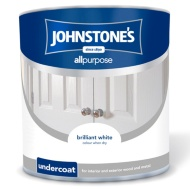 Johnstone's All Purpose Undercoat Paint - Brilliant White 2.5L