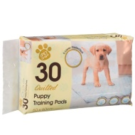Quilted Puppy Training Pads 30pk 60 x 60cm