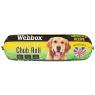Webbox Chub Roll 800g - Chicken