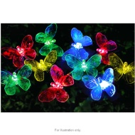 20 LED Butterfly Solar String Lights