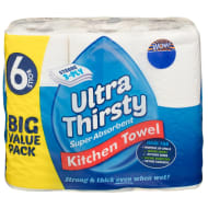Ultra Thirsty Kitchen Roll 6pk