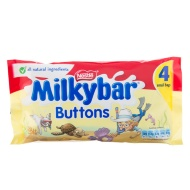 Milkybar White Chocolate Buttons 4pk