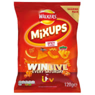 Walkers Mix Up Crisps 120g - Spicy