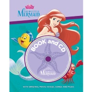 Disney Book & CD - The Little Mermaid