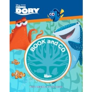 Disney Book & CD - Finding Dory