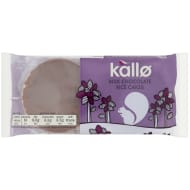 Kallo Chocolate Rice Cakes 100g