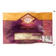 Patak's Plain Mini Naans 4pk