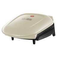 George Foreman 2 Portion Compact Grill - Cream