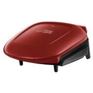 George Foreman 2 Portion Compact Grill - Red