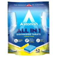 Astonish All in 1 Dishwasher Tablets 42pk