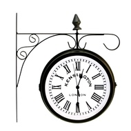 Kensington Station Clock - Black