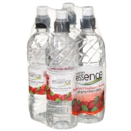 Essence Strawberry & Raspberry Water 4 x 500ml
