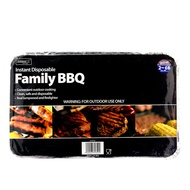 Instant Disposable Family BBQ