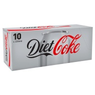 Coca Cola Diet Coke 10 x 330ml