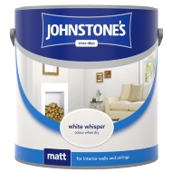 Johnstone's Paint Matt Emulsion White Whisper 2.5L