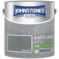 Johnstone's Paint Vinyl Silk Emulsion - Steel Smoke 2.5L