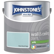 Johnstone's Paint Vinyl Silk Emulsion - New Duck Egg 2.5L