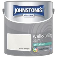 Johnstone's Paint Vinyl Soft Sheen Emulsion - White Whisper 2.5L