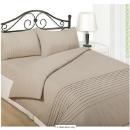 Silentnight Pintuck Complete Bed Set - King