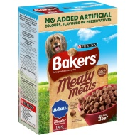 Bakers Meaty Meals with Tasty Beef 1kg