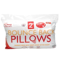 Home Comforts Bounce Back Pillow 2pk