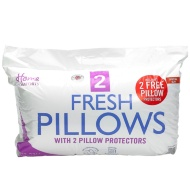 Home Comforts Fresh Pillows & Pillow Protectors 4pk