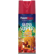 Plastikote Super Gloss Spray Paint 400ml - Red