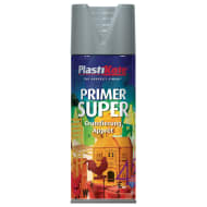 Plastikote Spray Paint - Super Grey Primer 400ml