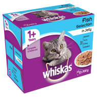 Whiskas Fisherman's Choice in Jelly 12 x 100g