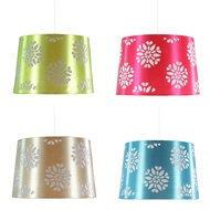 Floral Tapered Laser Cut Out Light Shade