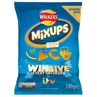 Walkers Mix Up Crisps 120g - Cheese