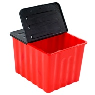 Red Storage Box 75L