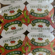 Duerr's Strawberry Jam 16 Portion 320g