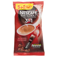 Nescafe Original 3 in 1 7 x 17g
