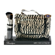 Satin Make Up Bag Set