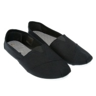 Ladies Slip on Plain Canvas