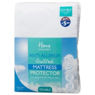 Anti Allergy Mattress Protector Double
