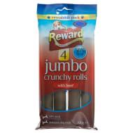 Reward Jumbo Rolls With Beef 4pk