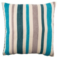 Maria Chenille Stripe Luxury Cushion