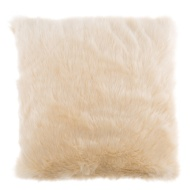 Gina Large Luxury Stone Faux Fur Cushion