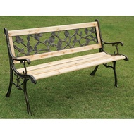 Rose Wooden Garden Bench