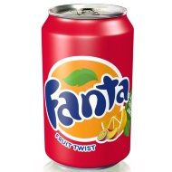 Fanta Fruit Twist Can 330ml